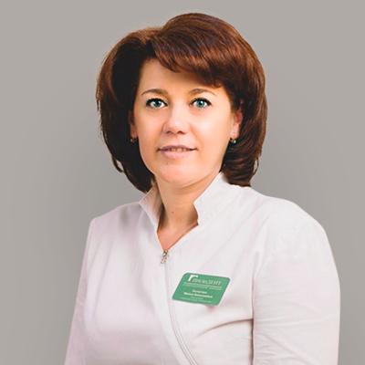 Сычугова Ирина Николаевна, глав.врач, врач стоматолог-имплантолог