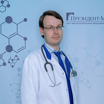 Карпенко Дмитрий Геннадьевич, врач-терапевт, гастроэнтеролог, кандидат медицинских наук