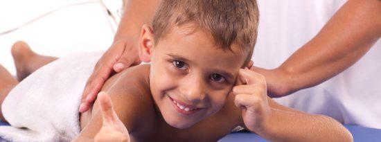Комплекс массажа для детей от 0 до 10 лет