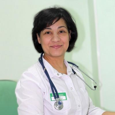Красникова Оксана Вартановна, врач терапевт, профпатолог, стаж работы 15 лет