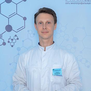 Аксенов Сергей Юрьевич, врач-ортопед, кандидат медицинских наук