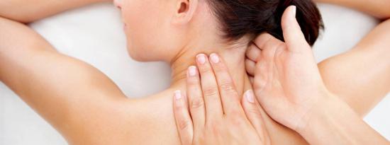 Массаж шейно-грудного отдела со скидкой