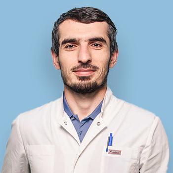 Алиев Али Асхабалиевич, врач-невролог, рефлексотерапевт