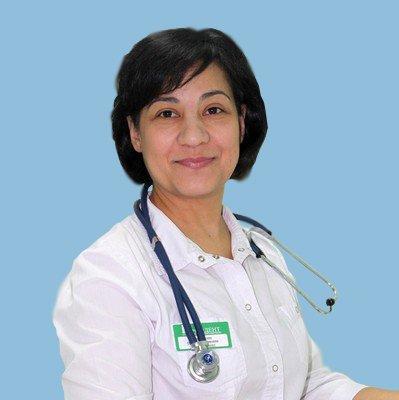 Красникова Оксана Вартановна, врач терапевт, профпатолог