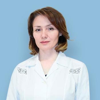 Лаврова Нина Авенировна -врач-терапевт, медицинский центр на Коломенской